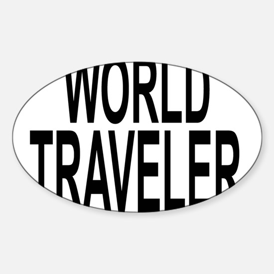 Cute Foreign cities Sticker (Oval)