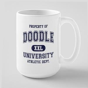 Doodle University Large Mug