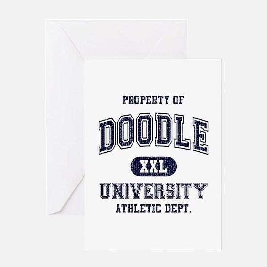 Doodle University Greeting Card