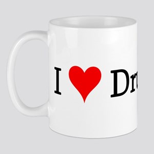 I Love Drummers Mug