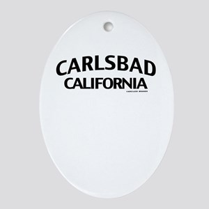 Carlsbad Ornament (Oval)