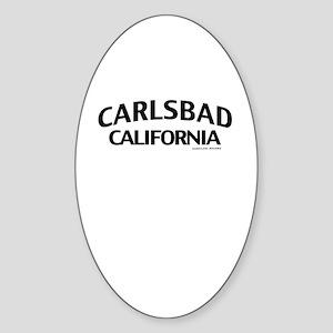 Carlsbad Sticker (Oval)