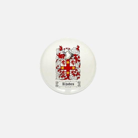 Rhodes Mini Button