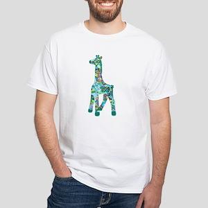 Oliver's Girraffe White T-Shirt