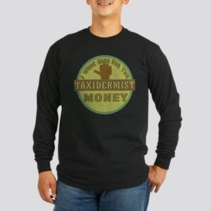 Taxidermist Long Sleeve Dark T-Shirt