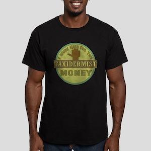 Taxidermist Men's Fitted T-Shirt (dark)