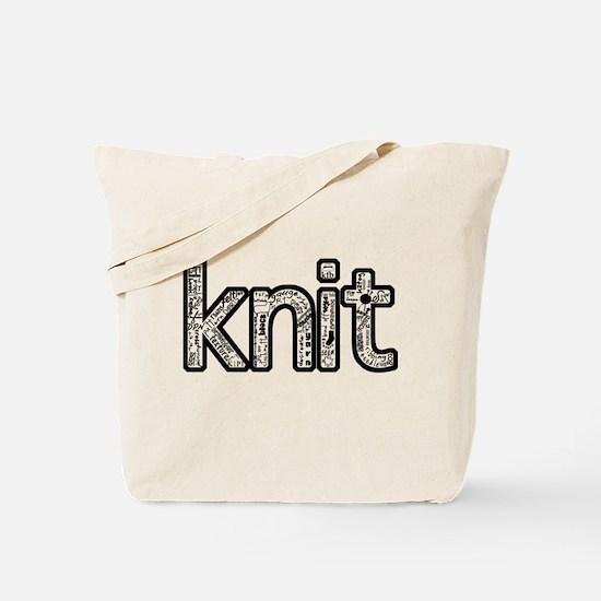 Cute Happy knitting Tote Bag