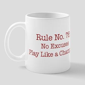 Rule No. 76 Mug