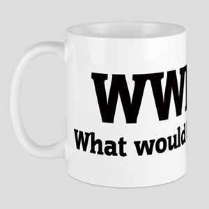 What would Lionel do? Mug