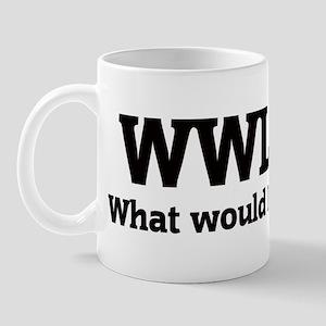 What would Levi do? Mug