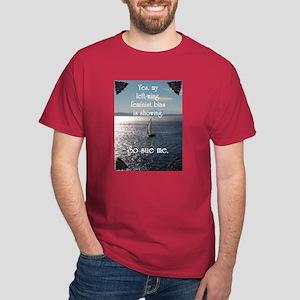 Left-Wing Bias Dark T-Shirt