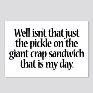 Giant Crap Sandwich Postcards (Package of 8)