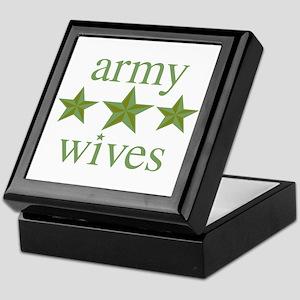 Army Wives Keepsake Box