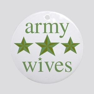 Army Wives Ornament (Round)