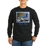 Blue Jay Long Sleeve Dark T-Shirt