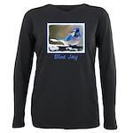Blue Jay Plus Size Long Sleeve Tee