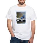 Blue Jay White T-Shirt
