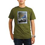 Blue Jay Organic Men's T-Shirt (dark)