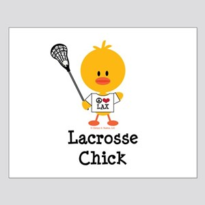 Lacrosse Chick Small Poster