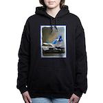 Blue Jay Women's Hooded Sweatshirt