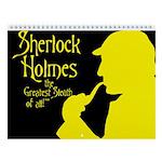 Sherlock Holmes 2018 12-Month Wall Calendar