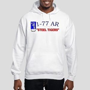 1st Bn 77th AR Hooded Sweatshirt