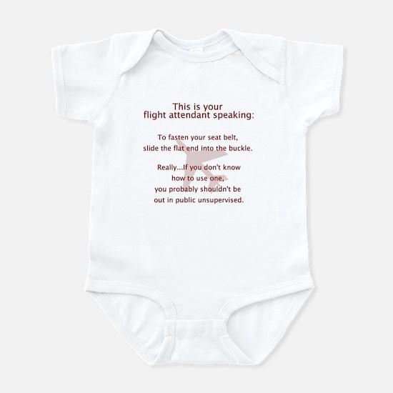 This Is A Seatbelt Infant Bodysuit