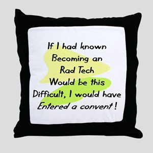 radiology Throw Pillow