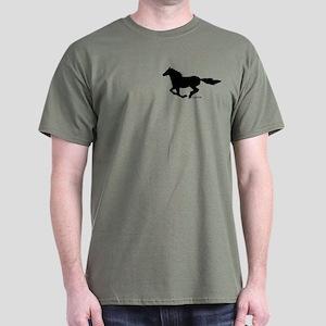 HORSE (black) Dark T-Shirt