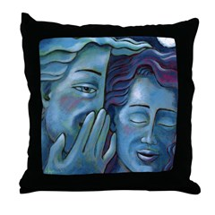 Our Secret Throw Pillow