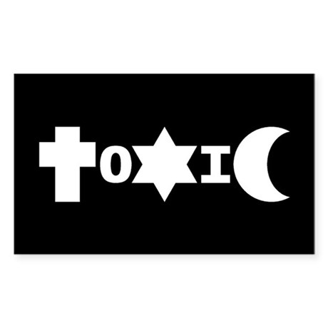 ToXiC Faith Logo Sticker (3x5)