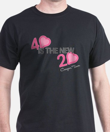Heart 40 is the New 20 T-Shirt