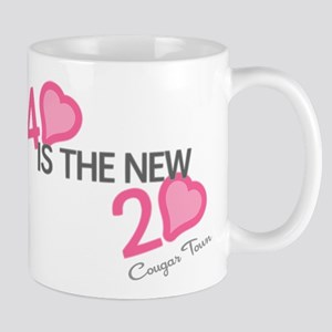Heart 40 is the New 20 Mug