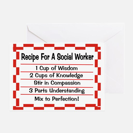 Social Worker II Greeting Card