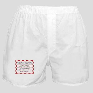 Social Worker II Boxer Shorts