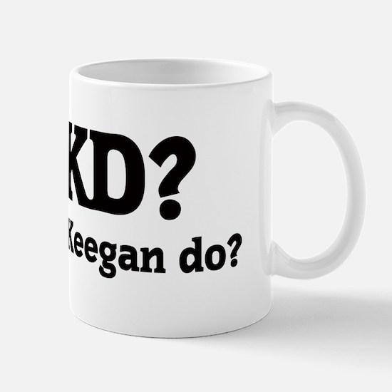 What would Keegan do? Mug