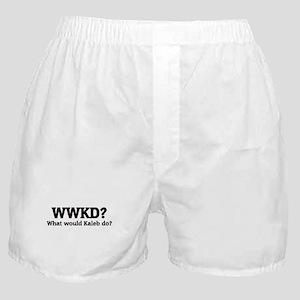 What would Kaleb do? Boxer Shorts