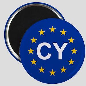 EU Cyprus Magnet
