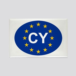EU Cyprus Rectangle Magnet