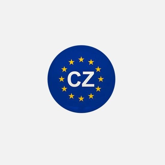 EU Czech Republic Mini Button