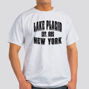 Lake Placid Old Style Black Light T-Shirt