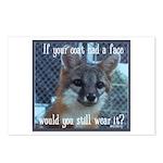 Fox Coat Postcards (Package of 8)