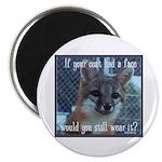 "Fox Coat 2.25"" Magnet (10 pack)"
