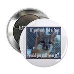 "Fox Coat 2.25"" Button (100 pack)"