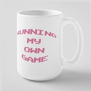 """""""Running My Own Game..."""" Large Mug"""