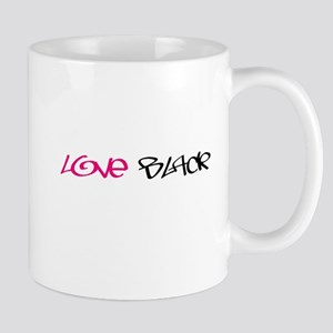 """""""Love Black"""" Mug"""