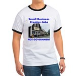Small Business Creates Jobs Ringer T