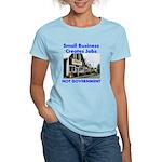 Small Business Creates Jobs Women's Light T-Shirt