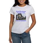 Small Business Creates Jobs Women's T-Shirt