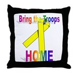 Bring the Troops Home Throw Pillow
